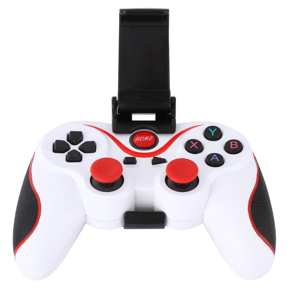 T3 Bluetooth wireless Game controller Gamepad joystick per Android Smart Phone Smart TV (nero) [video Game] vanpower 113605.02