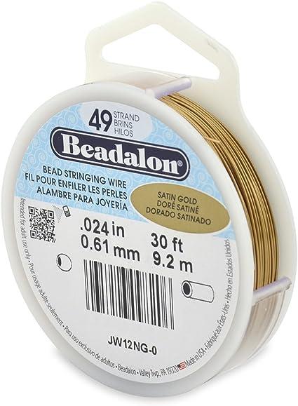 many colours /& diameters Beadalon 49-Strand Bead Stringing Wire