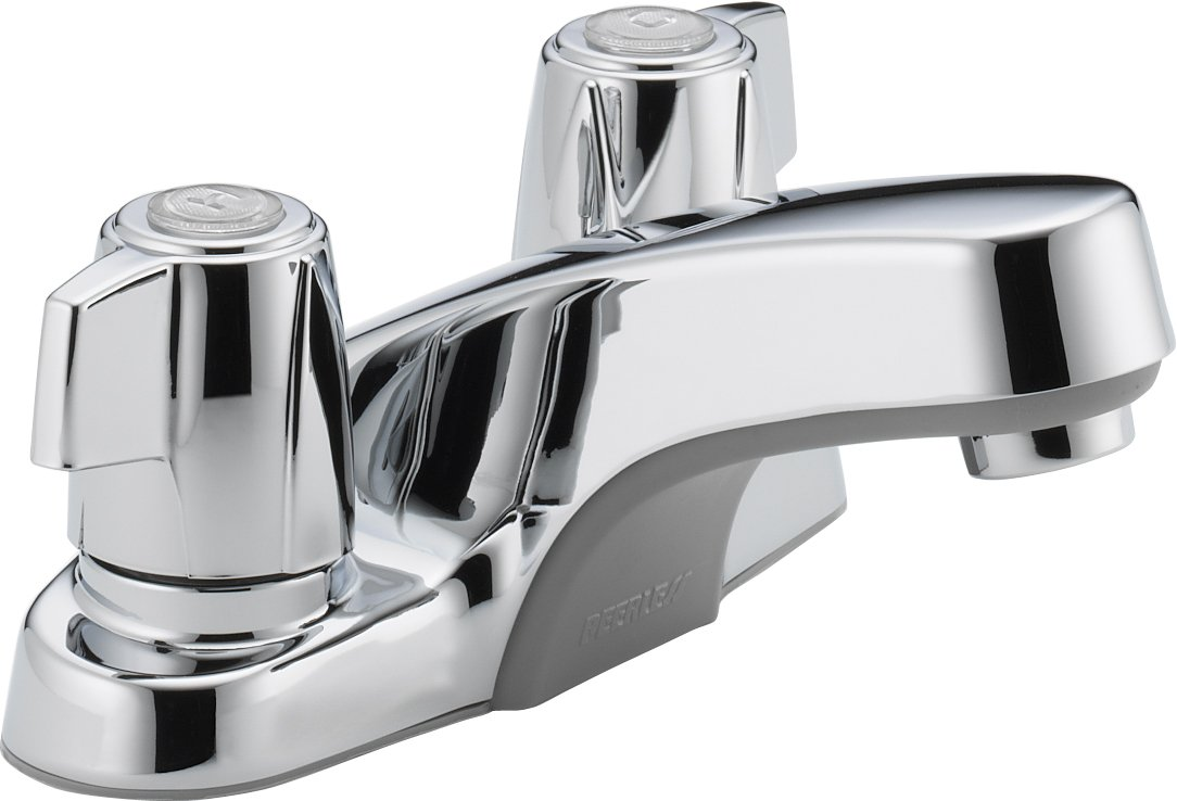 Peerless P241LF Classic Two Handle Bathroom Faucet, Chrome ...