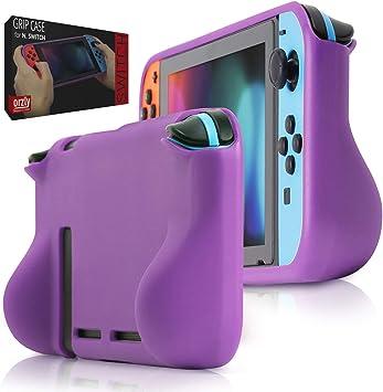 Orzly Funda Grip Case para la Nintendo Switch – Carcasa Protectora ...