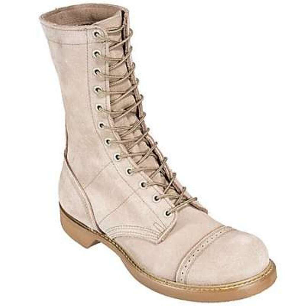 Corcoran New USA Made 10 inch Women's Jump Boots Desert Tan 4515 Sz 9.5 B by Corcoran (Image #1)