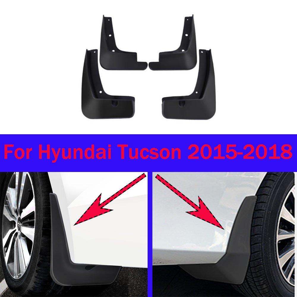 4x Schmutzfänger Spritzlappen VORN HINTEN KOMPLETT SET für Hyundai Tucson