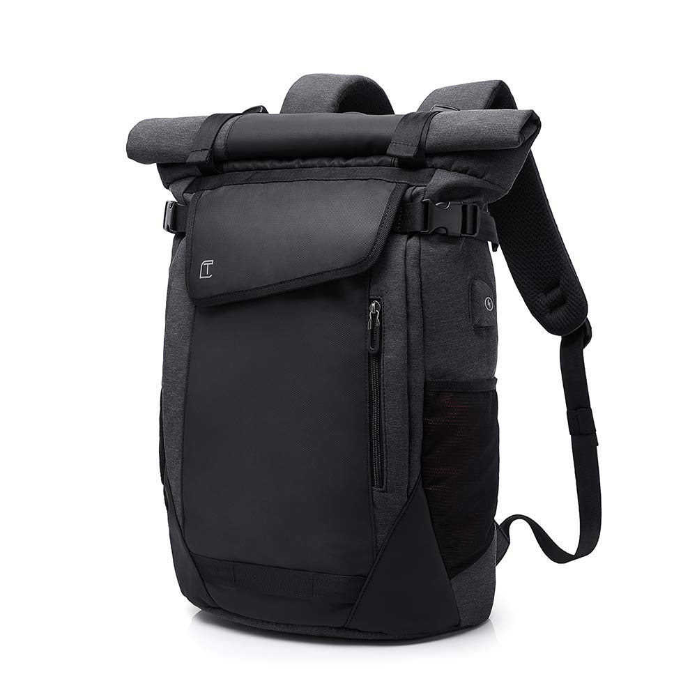 Lannsyne Hiking Backpack 36L Waterproof 16 Inch Laptop Bag School Campus Travel Rucksack With USB Charging Port by Lannsyne