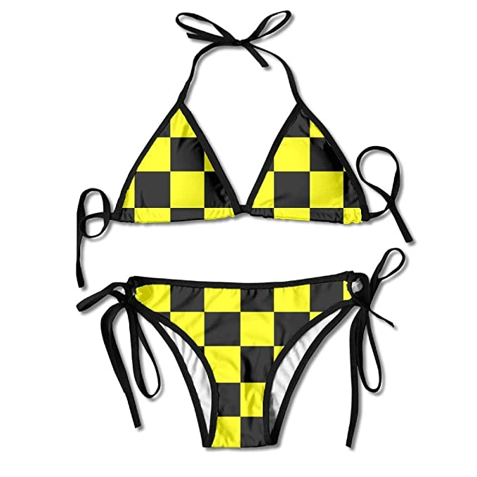 a4c4a3862a0e5 Image Unavailable. Image not available for. Color: Swimwear Women's Triangle  ...