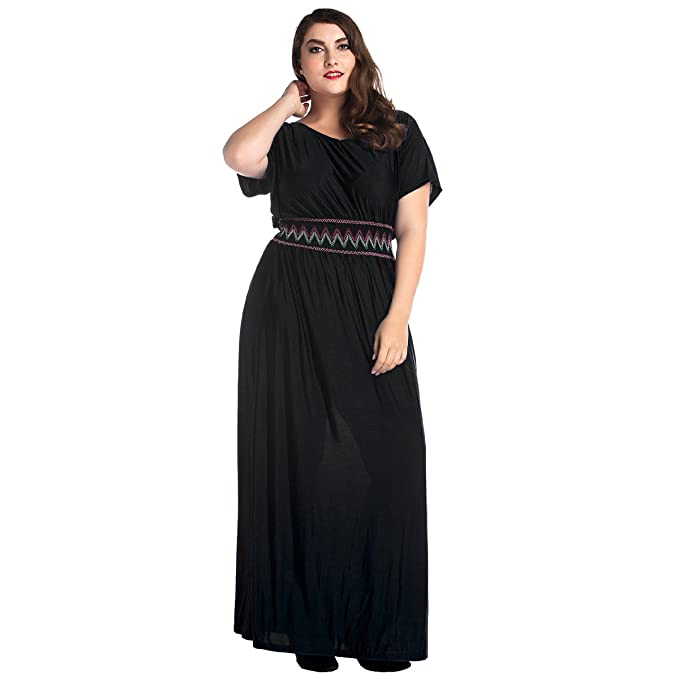 Beach Plus Size Formal Dresses with Sleeves