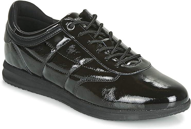 Geox d avery a scarpe da ginnastica basse donna amazon shoes neri