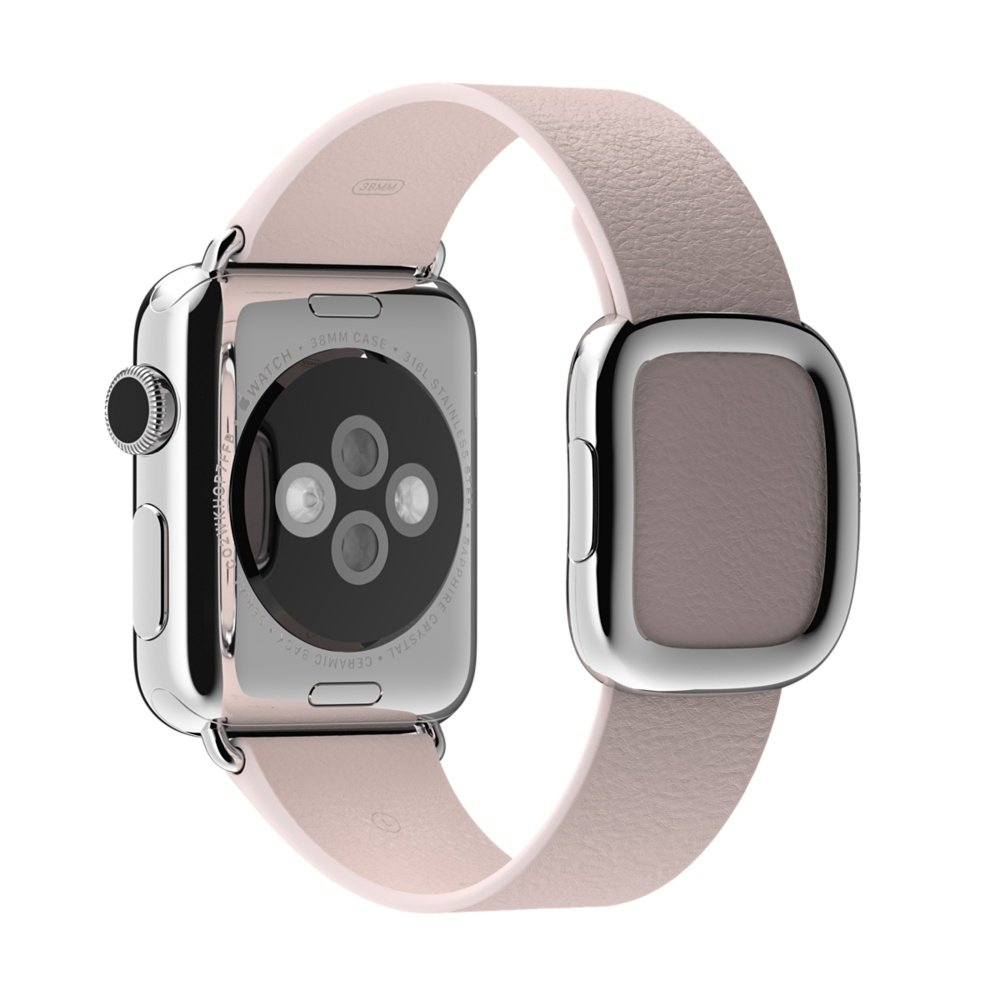 APPLE 38mm Soft Pink Modern Buckle - Medium (B)