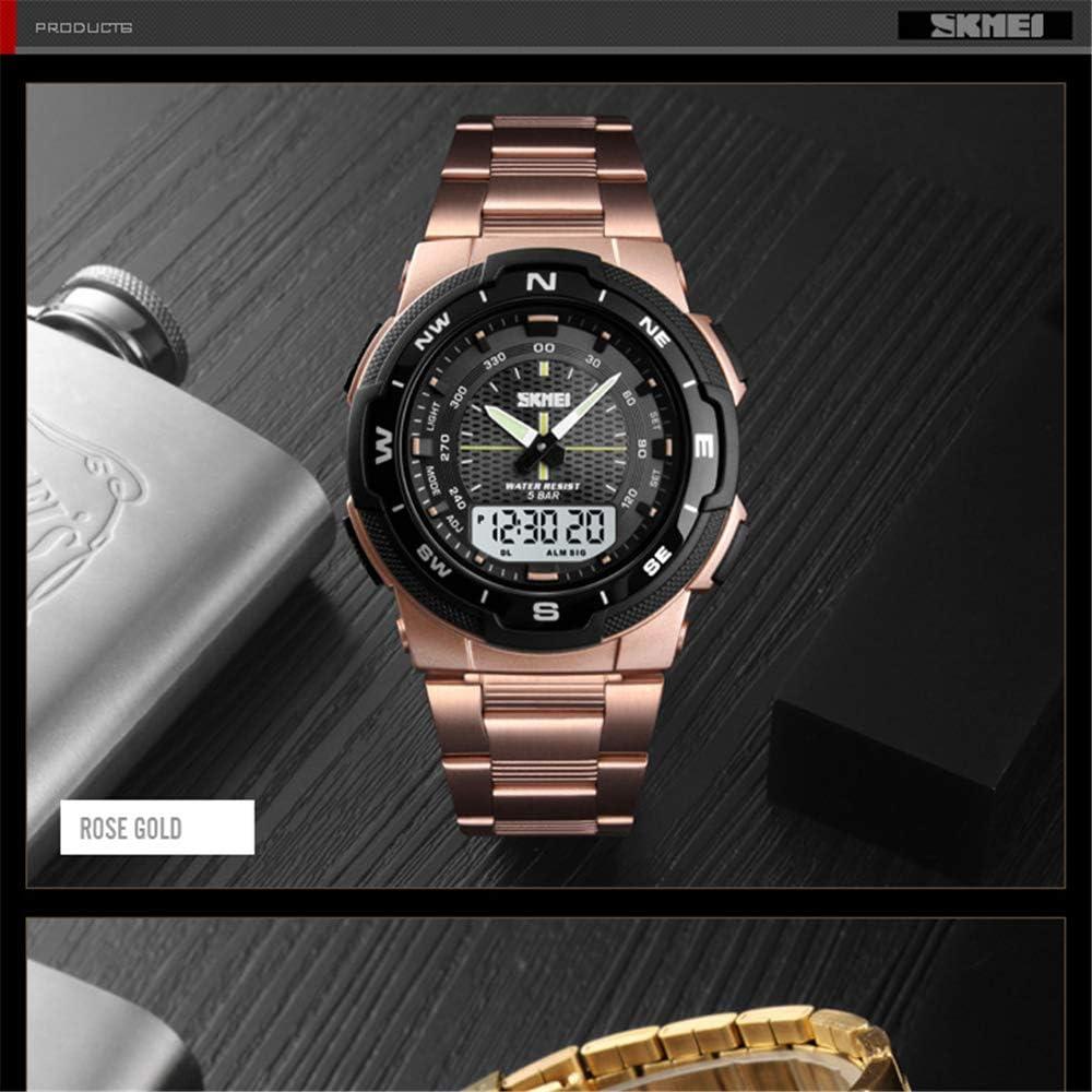 Orologio da uomo boutique Montre Montre Homme Mode Sport Montres Bracelet En Acier Inoxydable Montres Hommes Chronomètre Chronographe Montre-Bracelet Étanche Hommes Nero