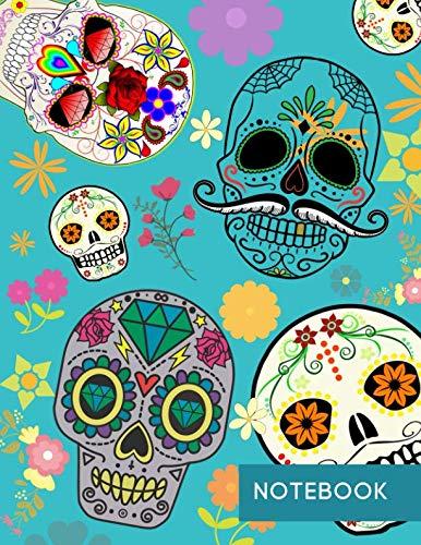Notebook: Dia de los Muertos -