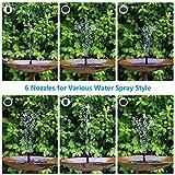 AISITIN 3.5W Solar Fountain Pump, Solar Water Pump