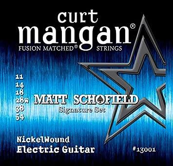 Curt Manganeso Strings 13001Guitarra Cuerdas