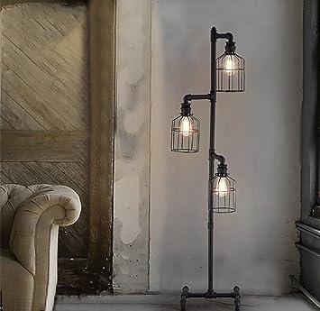 Floor DL stehlampe Stehlampe, Wohnzimmer Esszimmer Vintage Industrie ...