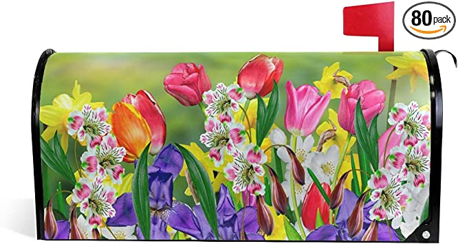 Amazon Com Woor Spring Flowers Daffodils And Tulips Magnetic