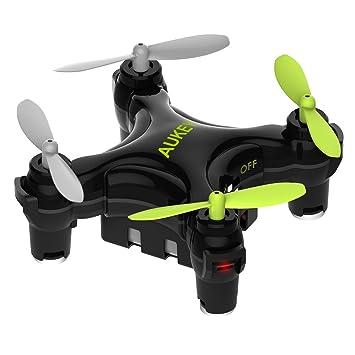 AUKEY Mini Quadcopter mit App Wi-Fi Steuerung, One-Key Landung ...