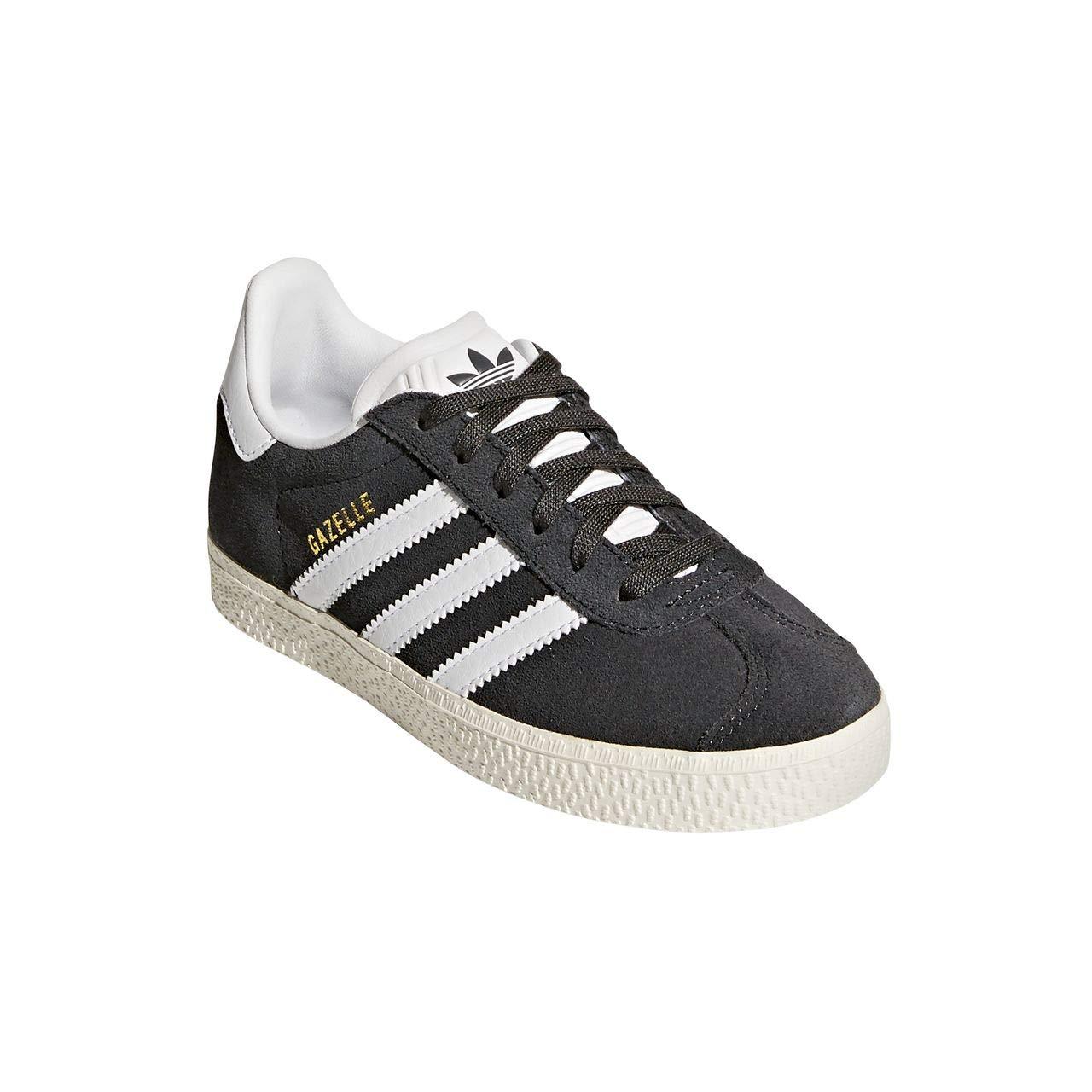 adidas Unisex-Kinder Gazelle Sneaker Schwarz 36 EU