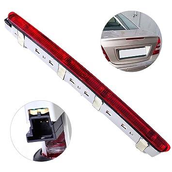 Trasera Stop Tail Lamp tercera luz de freno 2038201456 para Benz W203 C230 C240 C280 C350 2000 2001 2002 2003 2004 2005 2006 2000 - 2007: Amazon.es: Coche y ...