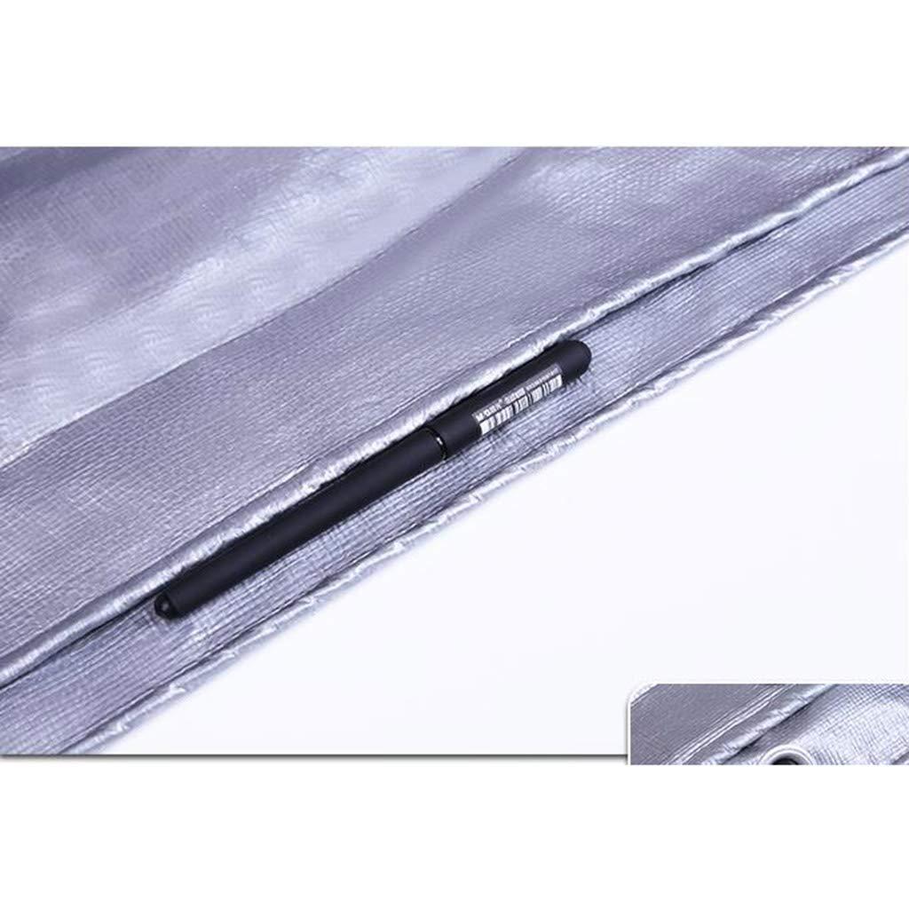 Plane Verdicken Sie im Freien Wasserdichte Tuch-Planen-Sonnenschutz-Poncho-Planen-Sonnenschutz-Poncho Tuch-Planen-Sonnenschutz-Poncho-Planen-Sonnenschutz-Poncho Tuch-Planen-Sonnenschutz-Poncho-Planen-Sonnenschutz-Poncho (Farbe   Silber, größe   2  4m) B07K7GXPKJ Zeltplanen Die erste Reihe von umfassenden Spezifikationen für Kunden 1a76b1