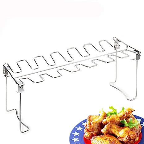Amazon.com: HomeYoo - Parrilla para patas de pollo, soporte ...