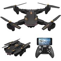 Novo Drone Visuo Tianqu Xs809s Com Câmera Hd Fpv 2.0mp Batle Shark