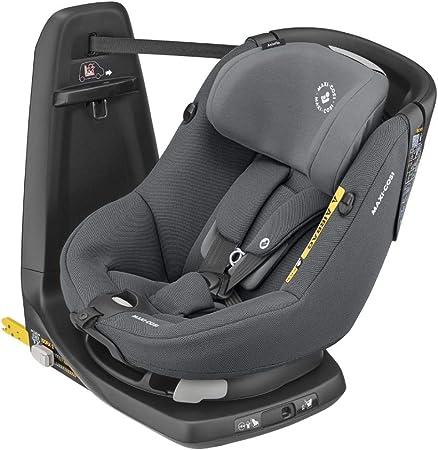 Oferta amazon: Maxi-Cosi Axissfix Silla de coche giratoria 360° isofix, silla auto reclinable y contramarcha para bebés 4 meses - 4 años, color authentic grey