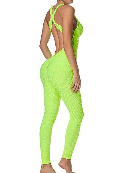 FITTOO Mallas Pantalones Deportivos Leggings Mujer Yoga de ...