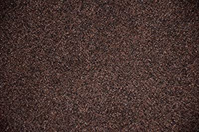 Dean Chocolate Brown Indoor/Outdoor Patio Deck Boat Entrance Carpet/Rug Mat - Size: 4' x 6'