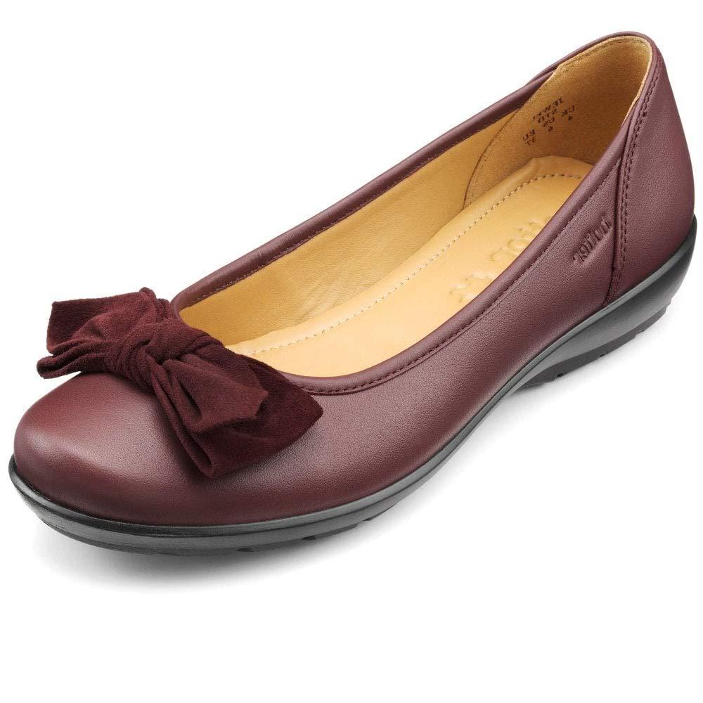 Hotter Ladies , Chaussures Bateau pour Noir Femme Noir pour Noir 36.5 39 EU|Rouge (Maroon) c32f8d