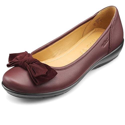 59bf3e036c16 Hotter Women s Jewel EXF Ballet Flats  Amazon.co.uk  Shoes   Bags