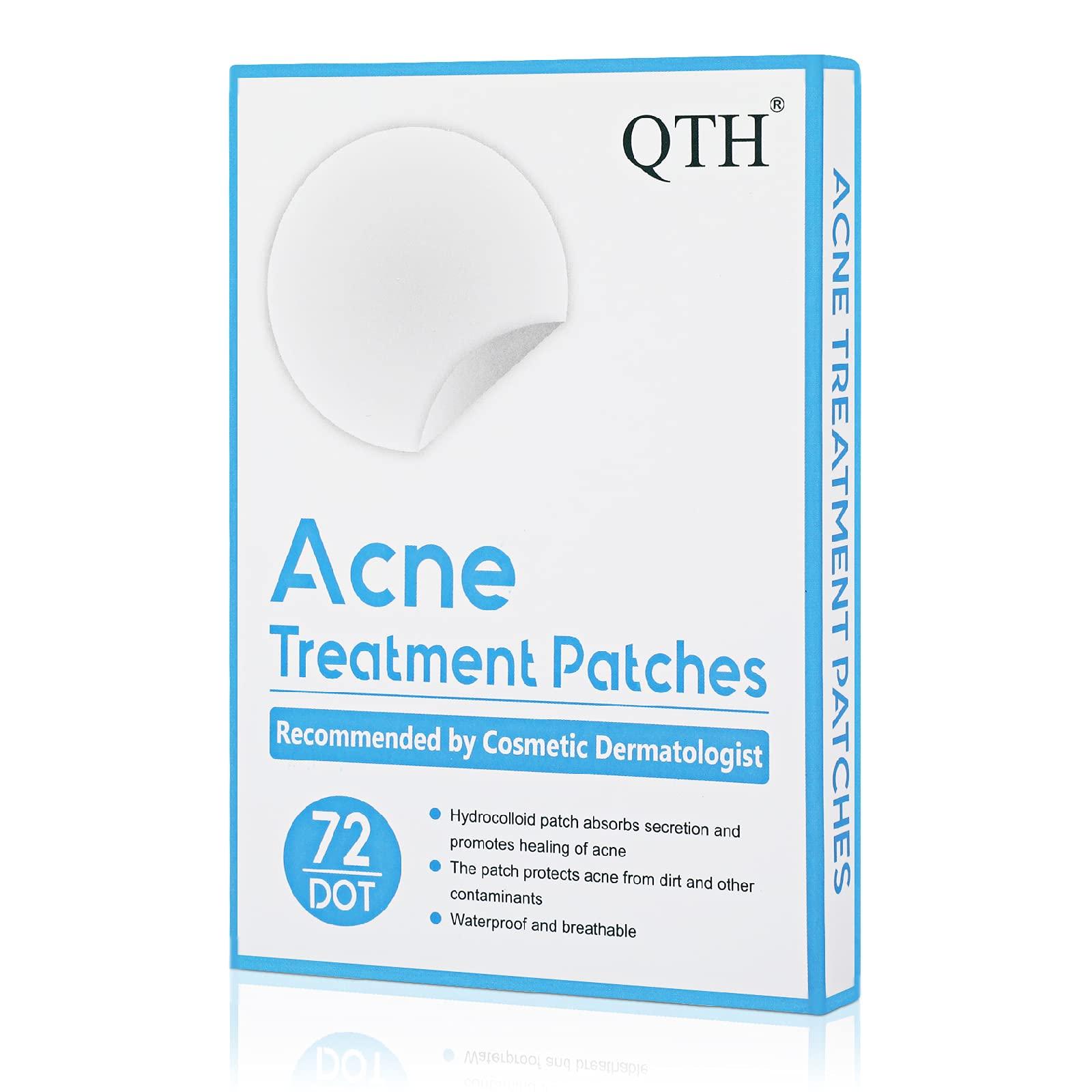QTH Acne Pimple Patches Hydrocolloid Pimple Patch for face Acne Spot Treatment