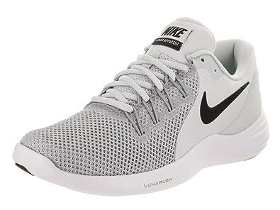 promo code 0ceff e1807 Nike WMNS Lunar Apparent, Chaussures de Trail Femme, Gris (Pure  Platinum Black