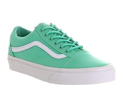 Vans Old Skool Biscay Green True White - 6 UK  Amazon.co.uk  Shoes   Bags 78fcf9b2ffe6