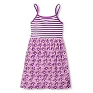 6bcfde802e16 Amazon.com  Pink Chicken Happy Striped Dress - Purple Elephant  Clothing