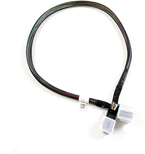 """Dell PowerEdge T620 21/"""" Black And Yellow GPU Power Cable 3692K 03692K CN-03692K"""