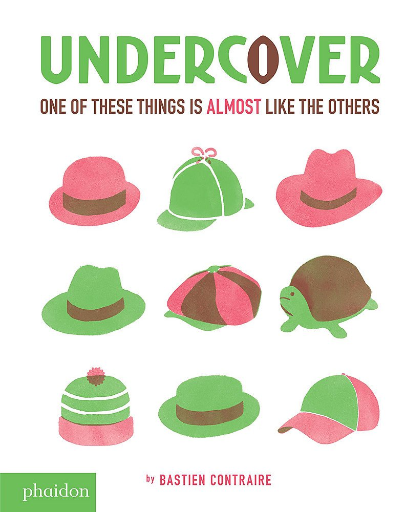 Undercover. One of these things is almost like the others. Ediz. illustrata (Libri per bambini)