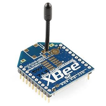 XBee 2 mW Antena de cable – Series 2 (ZigBee malla): Amazon ...