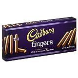 Cadbury Cookie Fingers Milk, 4.8 oz