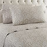 Shavel Home Products Micro Flannel Sheet Set, Twin, Leopard