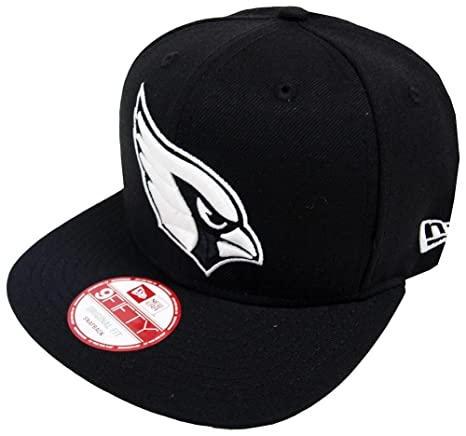 bae4a1cb17d91e Amazon.com: New Era Arizona Cardinals Black White Logo Snapback Cap 9fifty  Limited Edition: Clothing