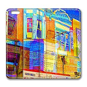 Brain114 4s, iPhone 4s Case, iPhone 4s Case, Street In Philadelphia PU Leather Flip Protective Skin Case for Apple iPhone 4s