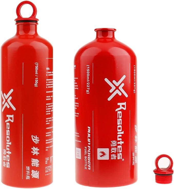 CUTICATE Botella De Almacenamiento De Combustible Líquido De ...