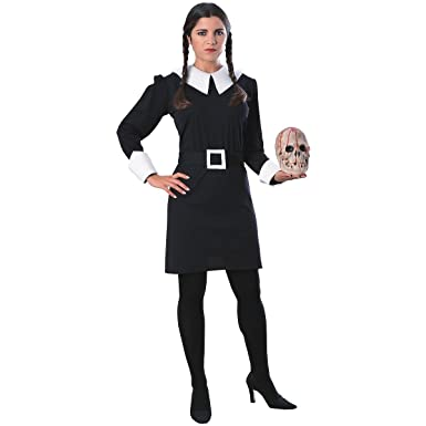 Wednesday Addams Adult Costume , Large
