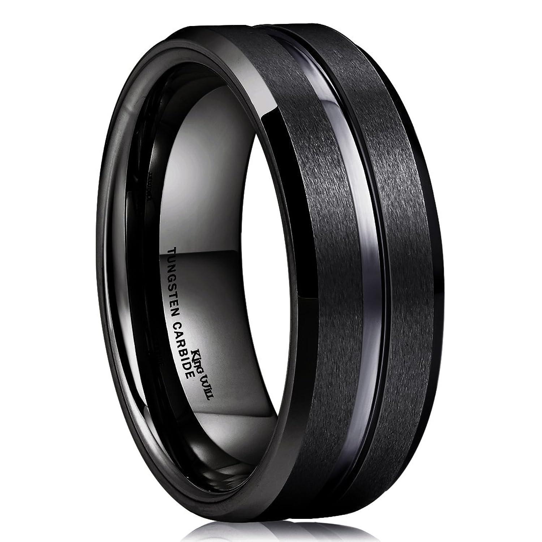 25+ cute Black wedding bands ideas on Pinterest | Men wedding ...