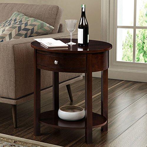 Convenience Concepts 501042ES Classic Accents Cypress End Table, Espresso