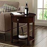 Convenience Concepts 501042ES Classic Accents Cypress End Table, Espresso