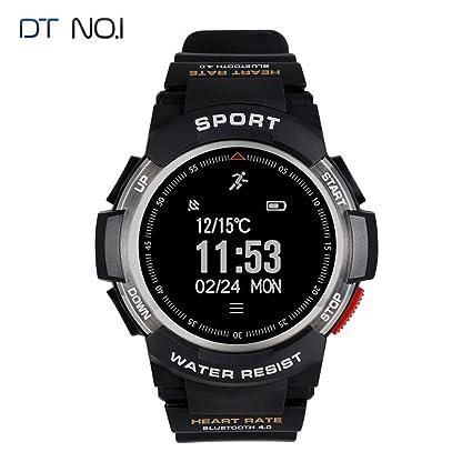 Amazon.com: GZCRDZ F6 Smart Watch IP68 Waterproof Bluetooth ...