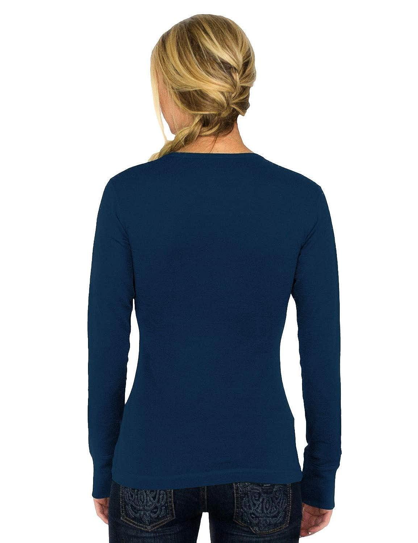 Woolx Womens Hannah Midweight Merino Wool Base Layer Shirt