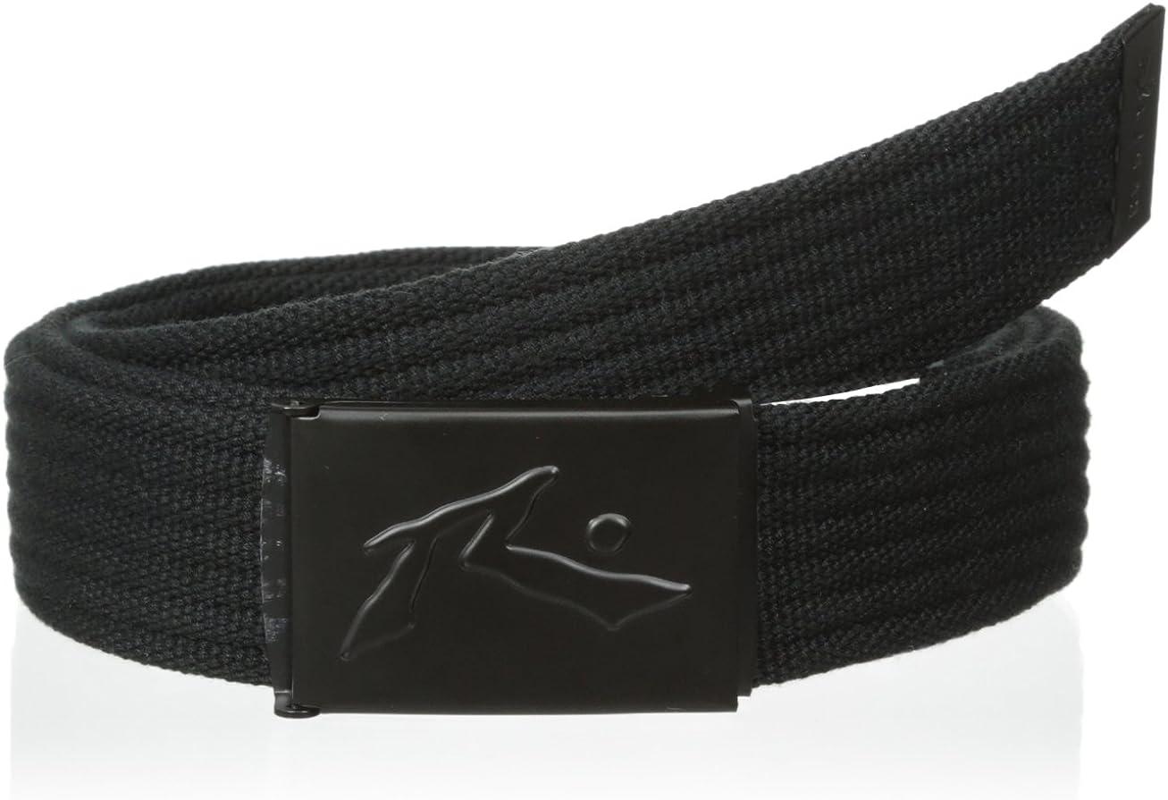 Geoffrey Beene Mens Dress Reversible Belt with Line Detail Plaque Buckle