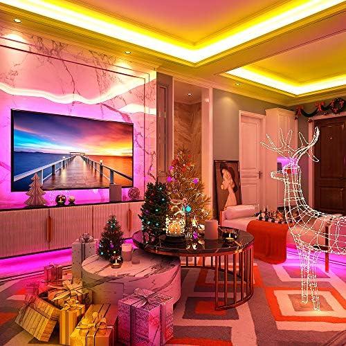 Deckenlampe HausLeuchten LLS226D, Deckenleuchte, Leuchte, Lampe, 2 flammig, Massivholz