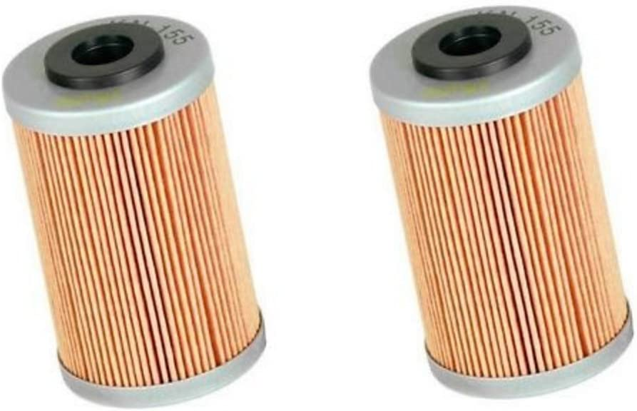 KTM 250 SXF FITS 2013 TO 2020 HIFLOFILTRO OIL FILTER  HF652  4 PACK
