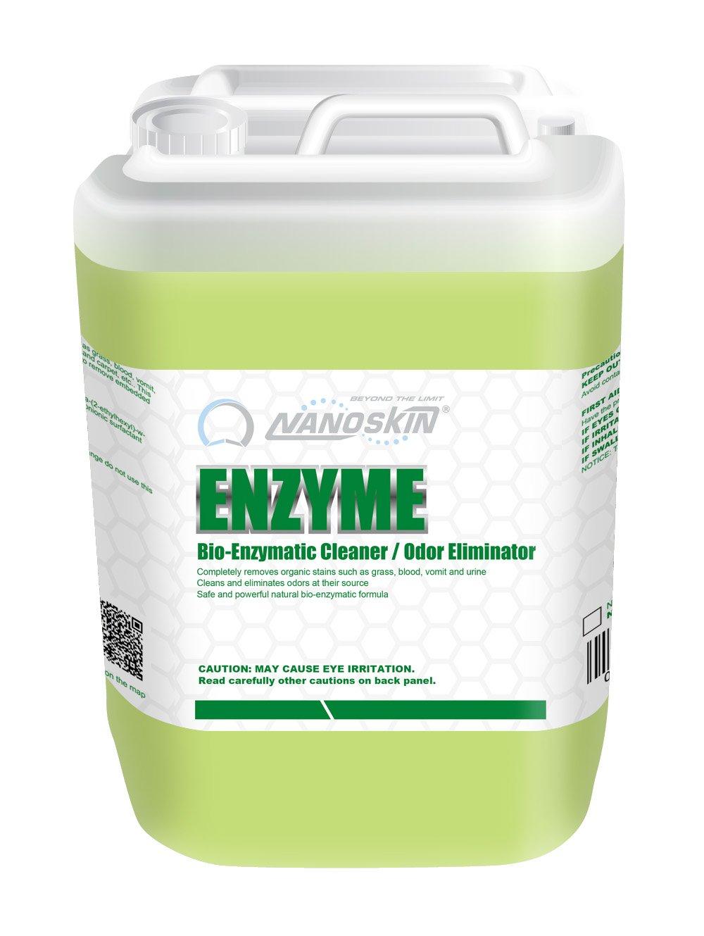 Nanoskin NA-EZM640 Enzyme Bio-Enzymatic Cleaner/Odor Eliminator-5 Gallon, 640. Fluid_Ounces